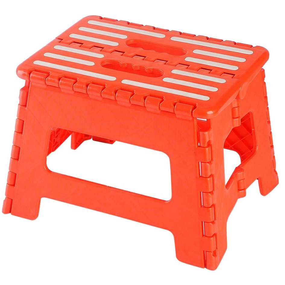 Collapsible Folding Plastic Kitchen Step Footrest Stool