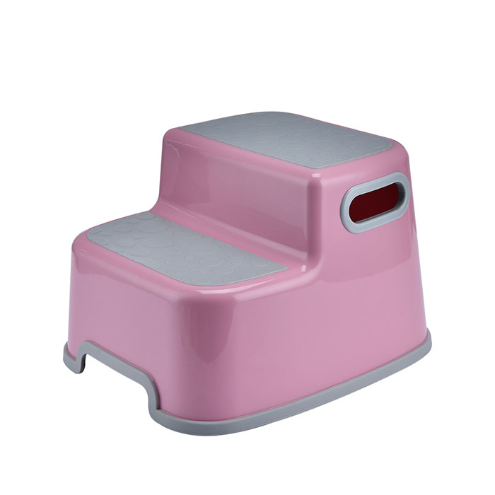 Double Stepping Toilet Stool