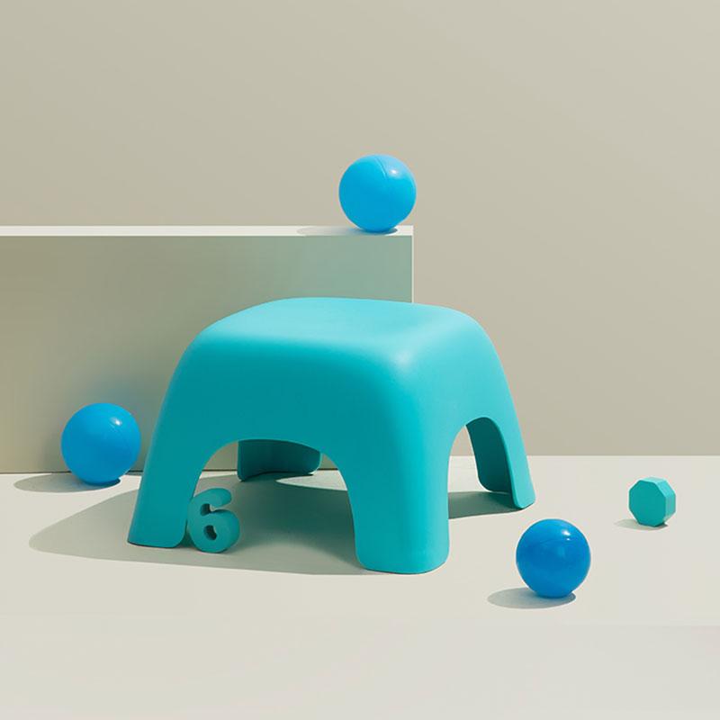 Multicolour Plastic Children Stool
