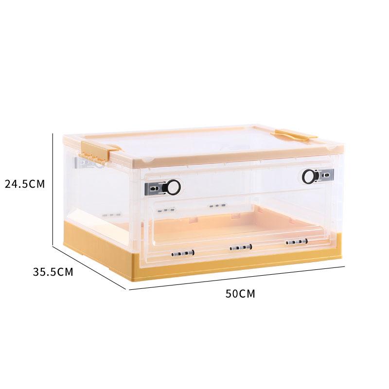 Večnamenski zložljivi plastični zapahi za shranjevanje Škatla / posode