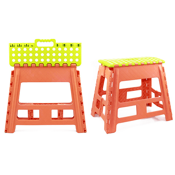 Plastic Extra-Wide household Kitchen Step Stool 15.3 inch height