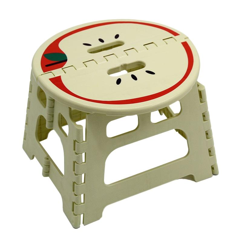 Plastic Foldable household sturdy stool