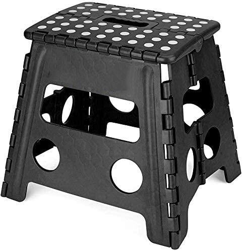 Plastic household 13'' inch height folding stool