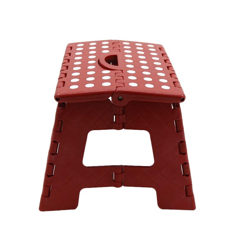 Plastic household EU heavy-duty EN14183 folding stool