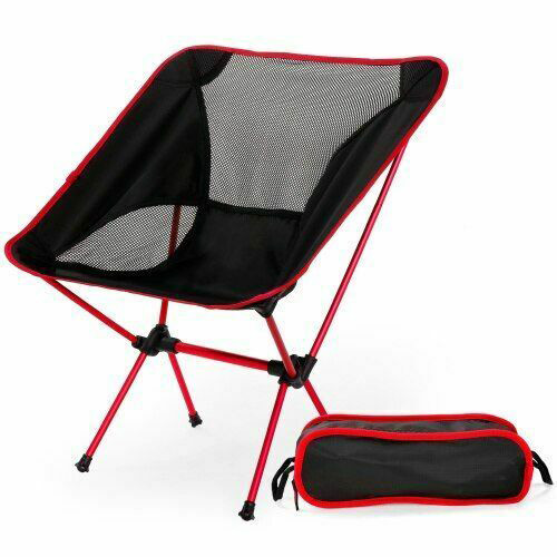 Portable Lightweight Folding Camping Chair Outdoor Leisure Seat Picnic Stool