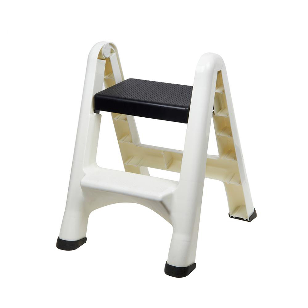 Portable Plastic Two Step Home Folding Ladder