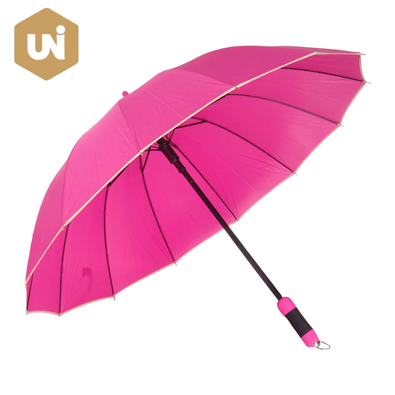 EVA Automatic Long Stick Rain Umbrella