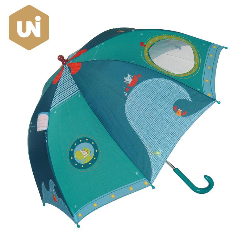 RPET Fabric Animal Children Kid Umbrella