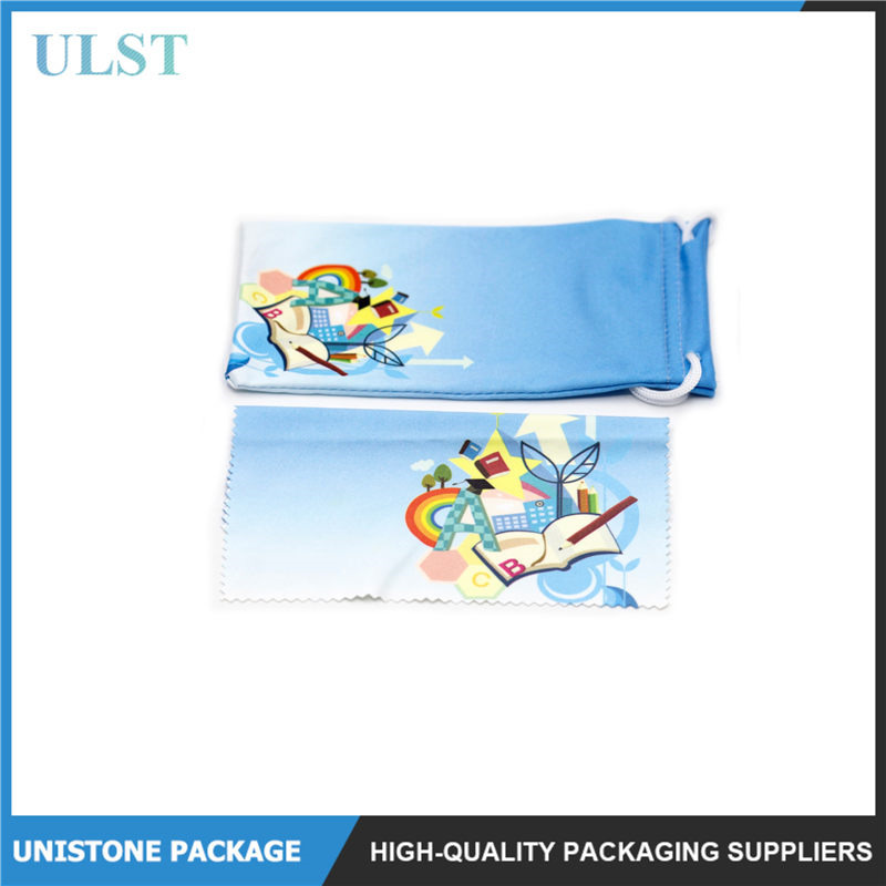 Eyeglasses Soft Wipe Cloth With Logo