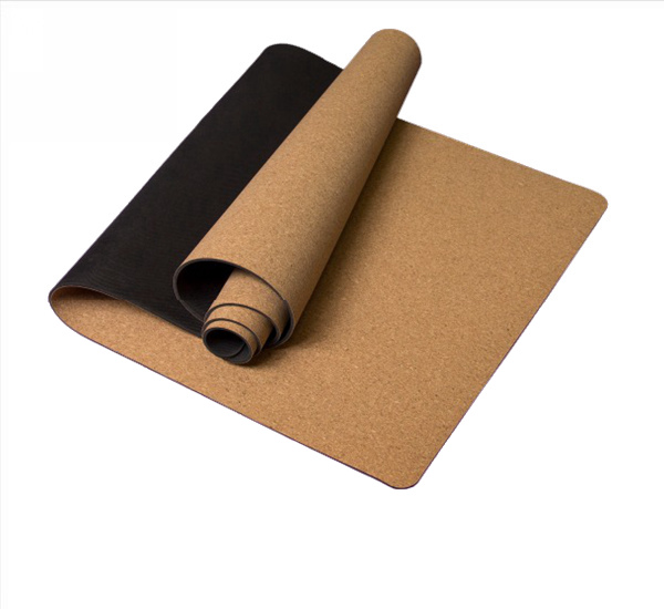 Natural Rubber Cork Yoga Mat