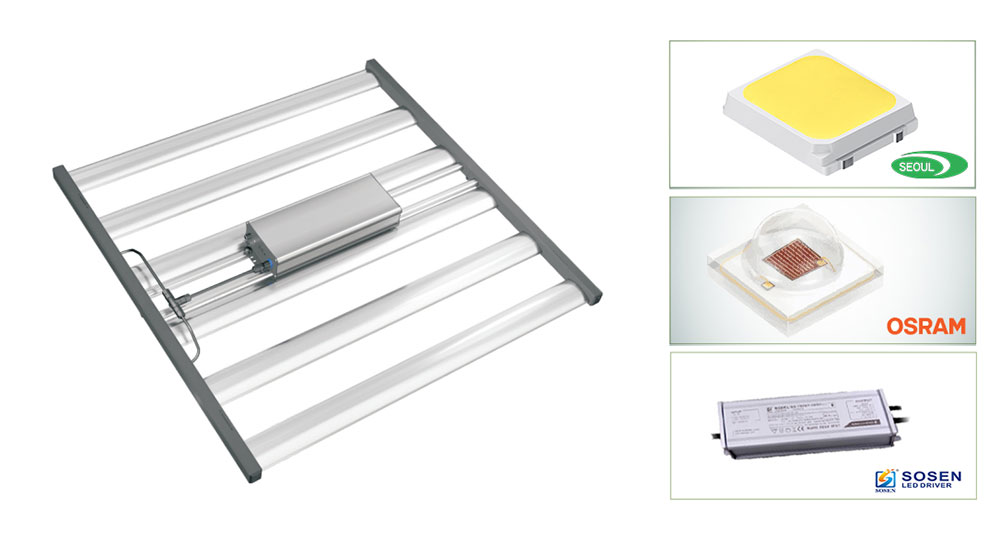 Indoor Grow Light 680W With Seoul LED