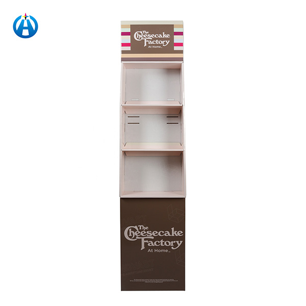 Cake Stand Store Point of Sale Recycled Paper Display Shelf