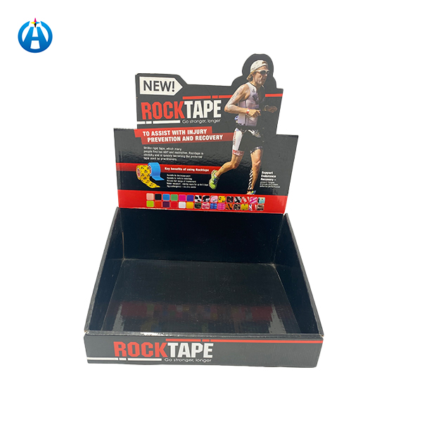 Colorful Printing Advertising POP Corrugated Template Display Box