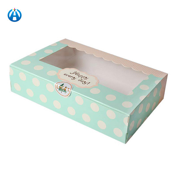 Recyclable Candy Truffle Biscuit Cookies Chocolate Bar Packaging Box
