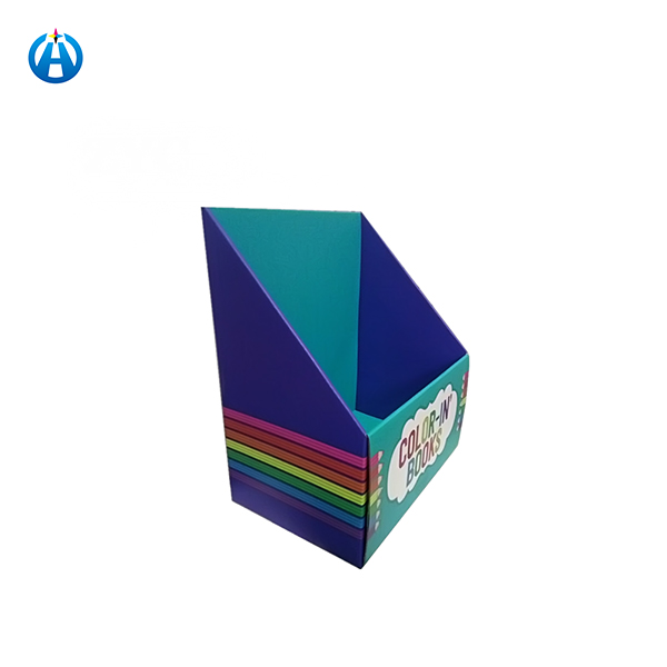 Designed and Printed Pop Cardboard Shipper Display Paper Counter Box