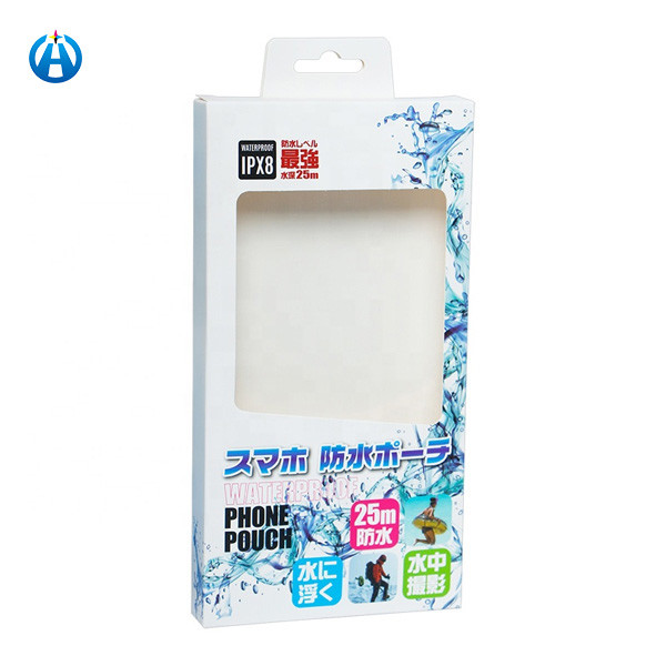 Eco-friendly Paper Packaging Box For Phone Case