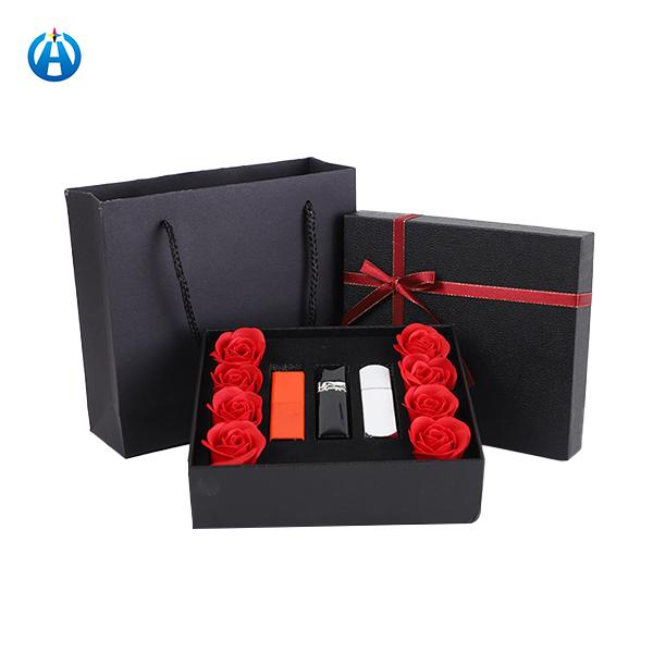 Flower Box Rose Bear Lipstick St Valentine's Day Gift Box