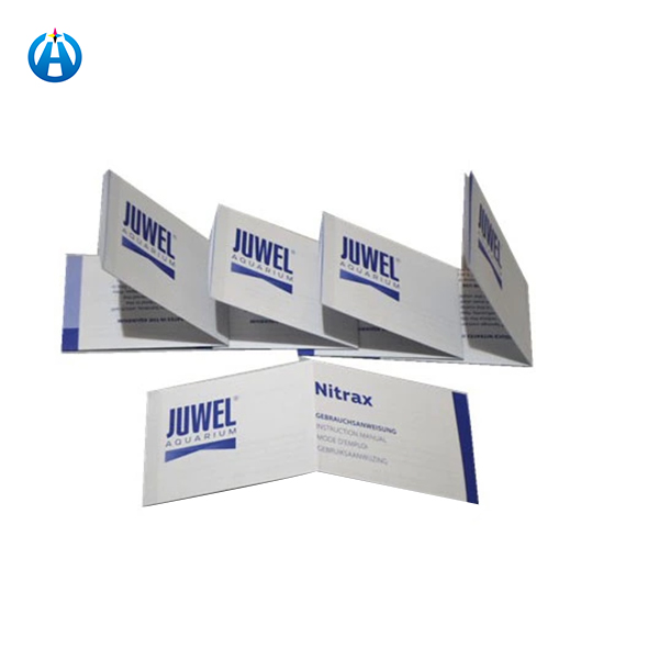 Folded Wood Free Company Profile Paper Offset Printing Manual