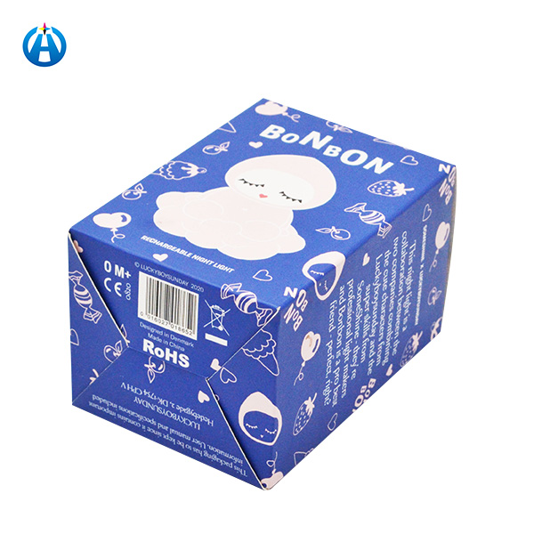 Folding White Card Paper Packaging Box