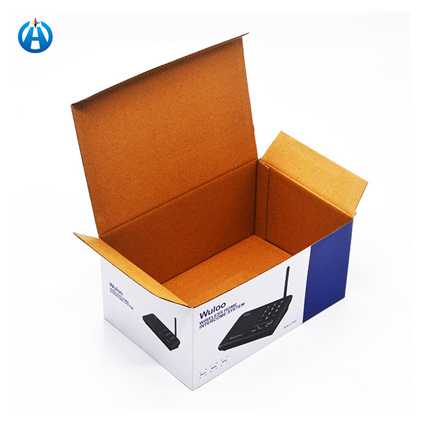 Full Color Corrugated Carton Box Packaging with Print