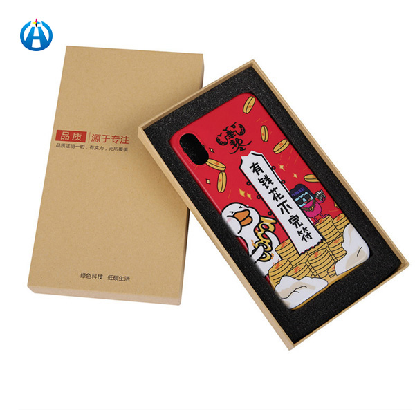 Hanging Mobile Phone Case Packaging with Pvc Window