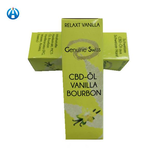Hot Sale Marijuana Cannabis Paper Packaging Box