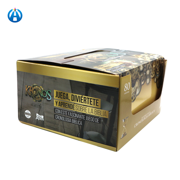 Large Empty Counter Packaging Corrugated Paper Display Box