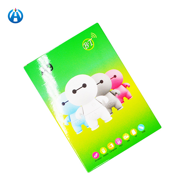 Eco-friendly Paper Material Packaging Box for Bluetooth Smart Toy