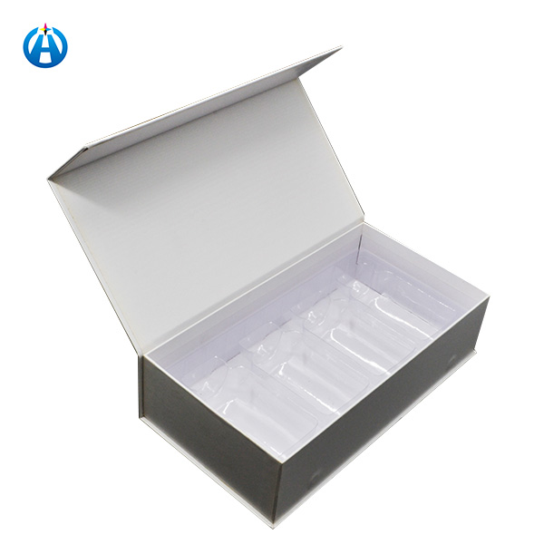 Packaging Logo Printed Magnetic Gift Boxes with Plastic Tray