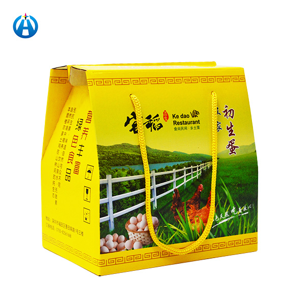 Corrugated Paper Egg Packaging Box Carton Corrugated Packing Box