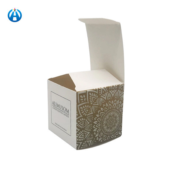 Printed Cosmetic Bottle Box Elegant Perfume Paper Gift Box