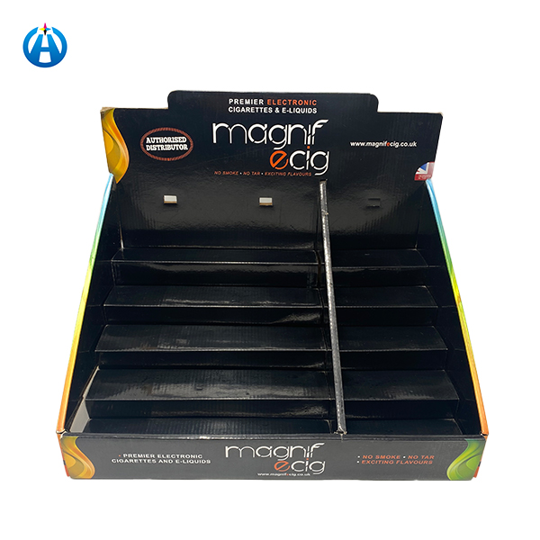 Printing Colorful Sturdy Corrugated CDU Display Counter Shopping Box