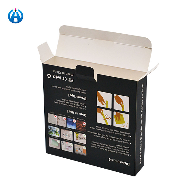 Printing Folding White Card Paper Box Daily Product Color Packaging Box