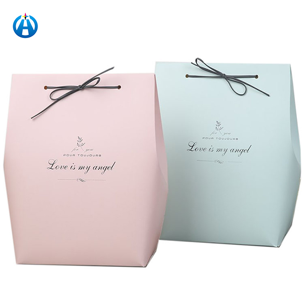 Recycled Luxury Lamination Wedding Sweets Small Sugar Packaging Gift Paper Bag For Baby Shower
