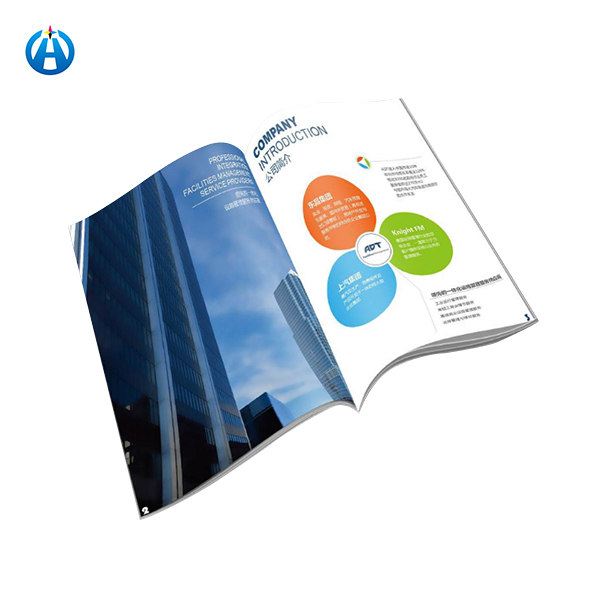 Soft Cover Printing Service Paper Manual Catalogue Book