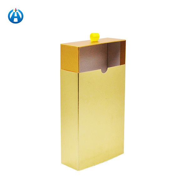 Special Gold Paper Drawer Gift Boxes Wedding Party Favor Gift Candy Box