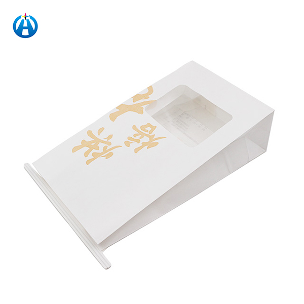 Special cookie paper bag with window brands