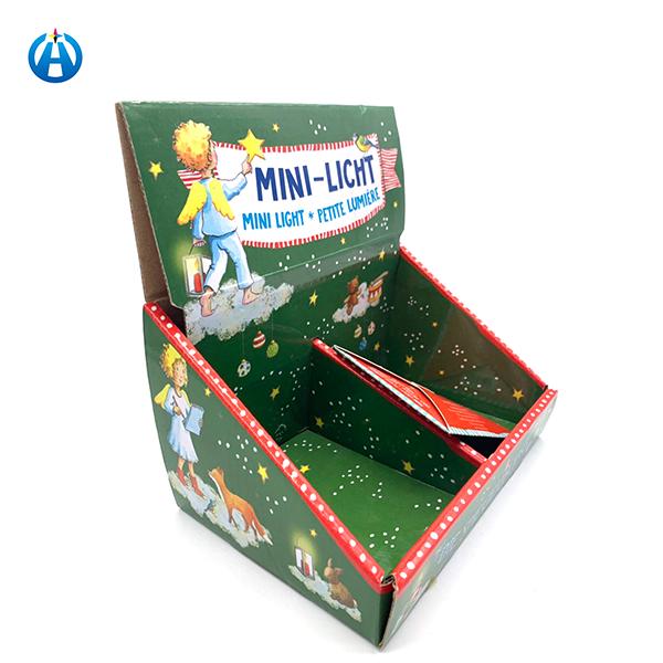 Top Display Rack Shelf Christmas Gift Paper Box