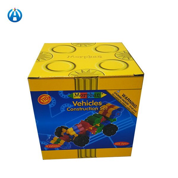 Yellow Package Boxes For Toy