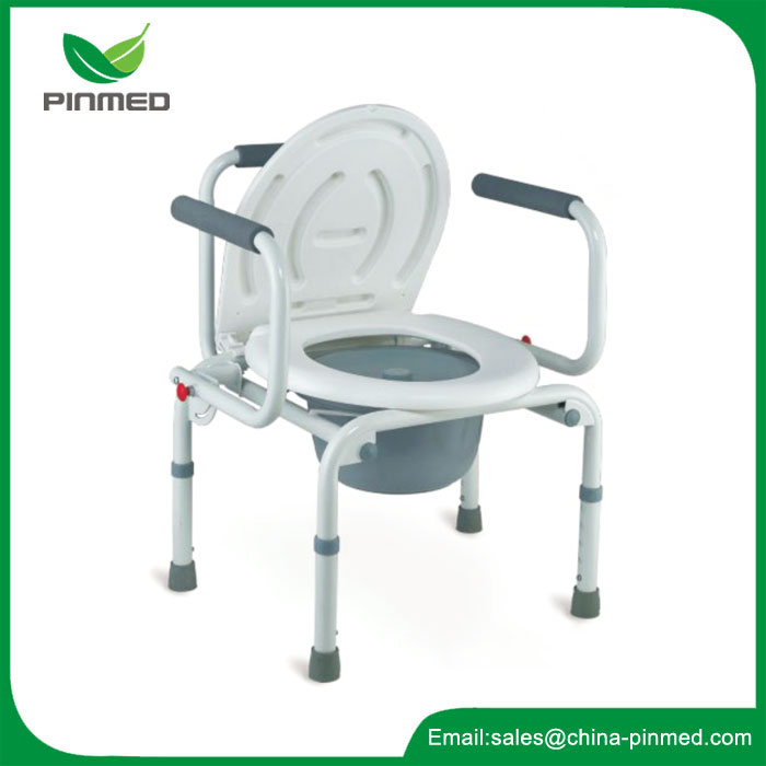 Folded Commode Chair