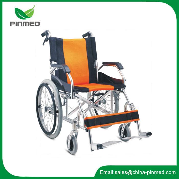Cadeira de rodas leve de liga de alumínio