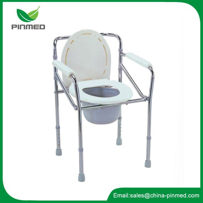 Cadeira higiênica de aço