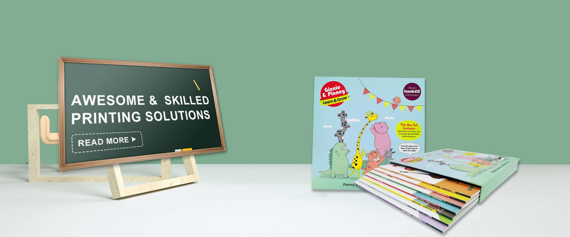 Laste raamatute trükkimine