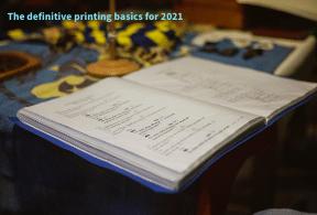 Окончателните основи на печата за 2021 г.