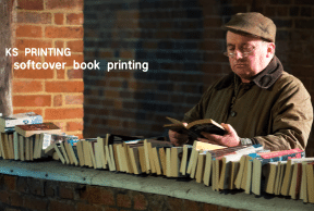 Notes related to softcover book printing when adding base colour