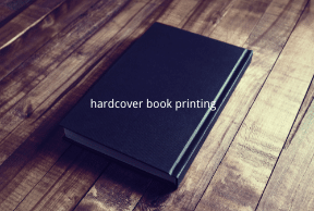 What is hardcover book printing, and what is the difference between regular printing?