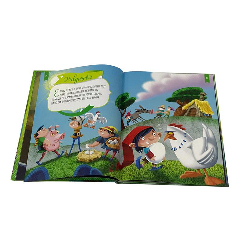 Kids High Color Hardback raamatute printimine