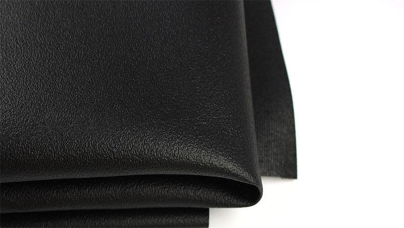 Μαύρο Αντιολισθητικό Δερμάτινο Αντιολισθητικό Φόρεμα 0,6mm Καρφίτσα Κάτω Oxford Oxford Chassis Leather Προϊόντα Τεχνητό Δερμάτινο Φλόγα - Επιβραδυντικό