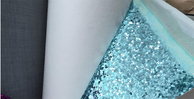 Δερμάτινη ταπετσαρία Μέγεθος Sequin Flash Δερμάτινα Πράσα Glittering Stage Διακοσμημένη Δερμάτινη Ταπετσαρία Δέρμα Τεχνητό Δέρμα PU Δέρμα