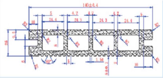 FPC81A5-25MM*140MM-2320G/M